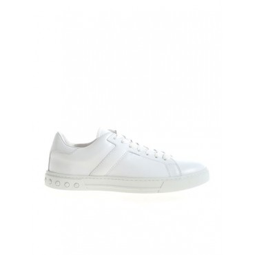 Tod's Carrie Over logo detail sneakers in white Men's ASCE351